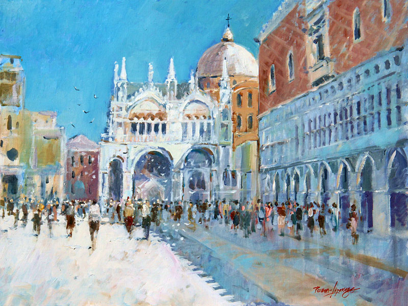 Shaddows of San Marco Venice