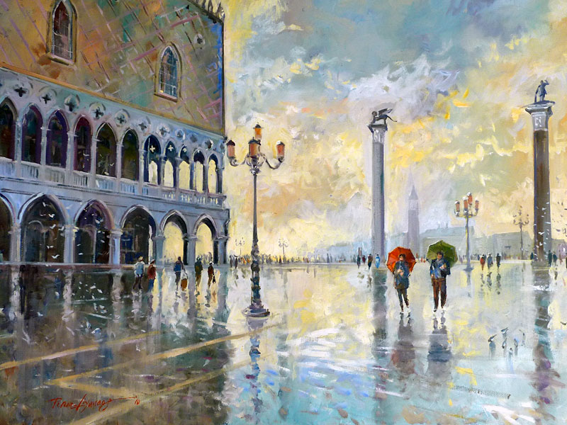 Sunshine after the rain - San Marco Venice